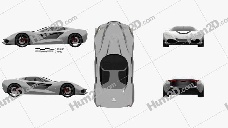 Iso Rivolta Vision Gran Turismo 2017 Clipart Image