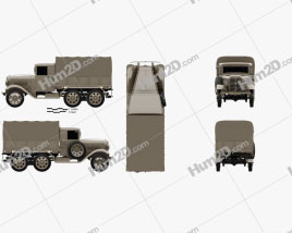 Isuzu Type 94 Truck 1934