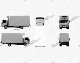 Isuzu NRR Refrigerator Truck 2010