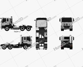 Isuzu Giga Max Tractor Truck 2010