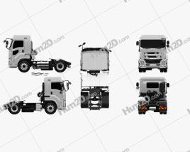Isuzu Giga Tractor Truck 2-axle 2015
