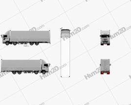 Isuzu Giga Box Truck 4-axle 2017