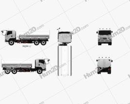 Isuzu FVM Tanker Truck 2017