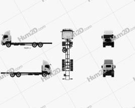 Isuzu FXY Chassis Truck 2017