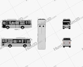 Isuzu Erga Mio L1 Bus 2019