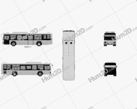 Isuzu Erga Mio L2 Bus 2019