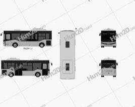 Isuzu Novociti Life Bus 2018