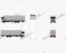 Isuzu Giga Box Truck 2015