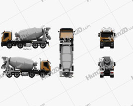 Iveco Stralis X-WAY Mixer Truck 2017