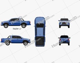 JAC Shuailing T8 2018 car clipart