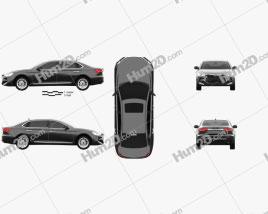 JAC Refine A60 2016 car clipart