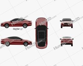 JAC A5 2019 car clipart