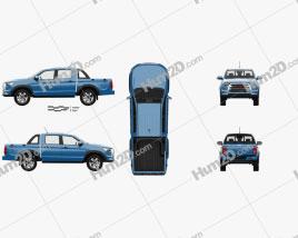 JAC Shuailing T8 com interior HQ 2018 car clipart