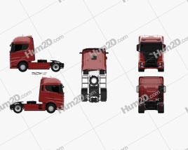 JMC Weilong HV5 Tractor Truck 2018