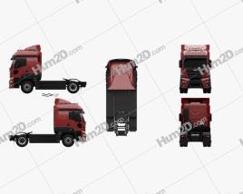 JMC Veyron Tractor Truck 2019 clipart