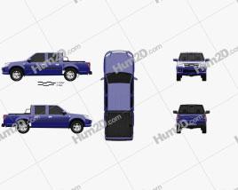 JMC Baodian Plus 2015 car clipart