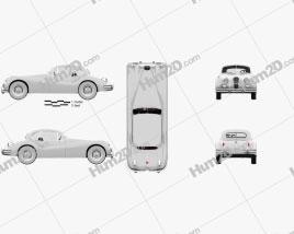 Jaguar XK 140 coupe with HQ interior 1954