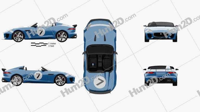 Jaguar Project 7 2013 Clipart Image