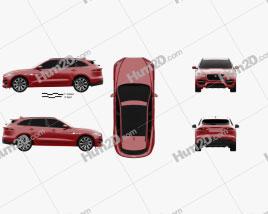 Jaguar F-Pace R-Sport 2016 car clipart