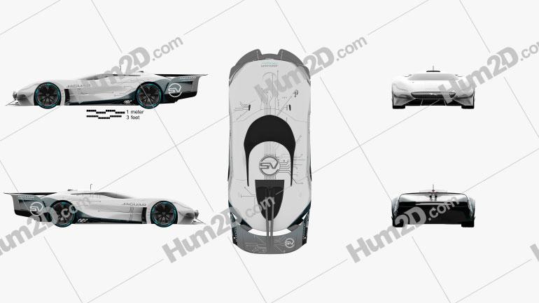 Jaguar Gran Turismo SV 2020 car clipart