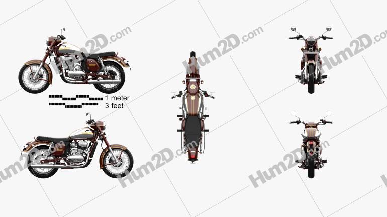 Jawa 300 CL 2021 Imagem Clipart