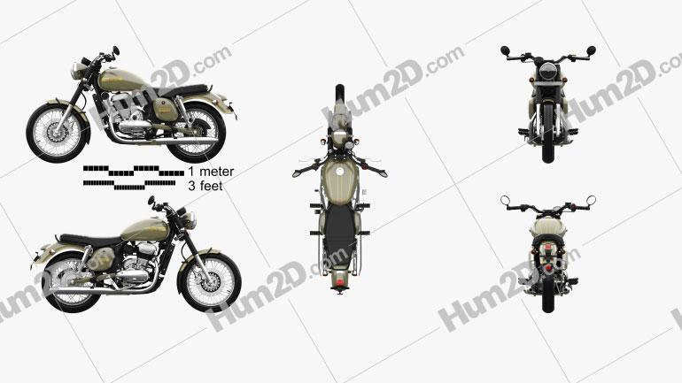 Jawa 42 2021 Motorrad clipart