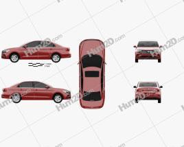 Jetta VA3 2019 car clipart