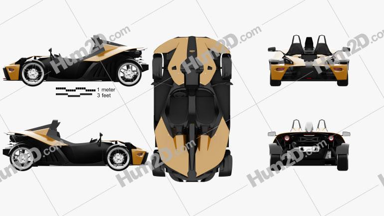 KTM X-Bow 2012