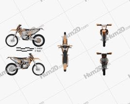KTM 500 EXC 2016