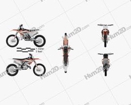 KTM 150 SX 2020 Motorrad clipart