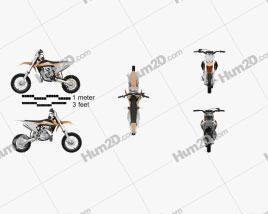 KTM SX50 2016 Clipart