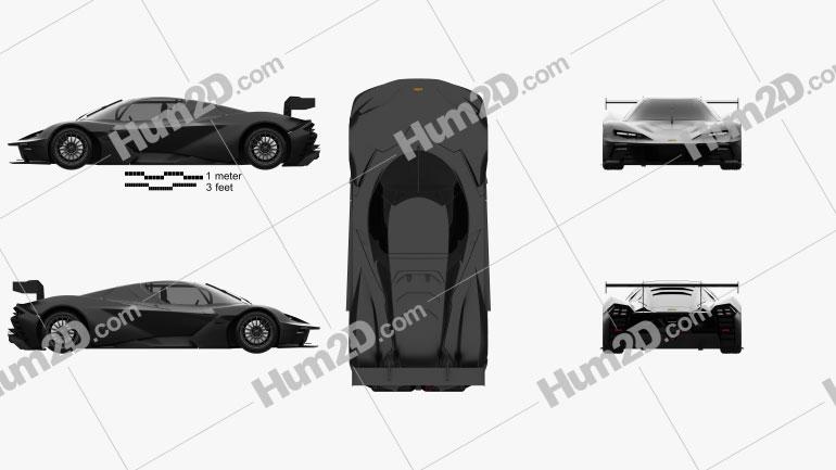 KTM X-Bow GTX 2020 car clipart
