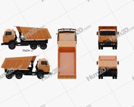 Kamaz 5511 Dump Truck 1977