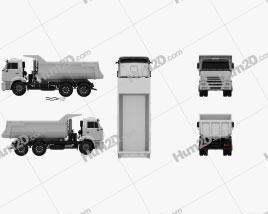Kamaz 6520 Tipper Truck 2009