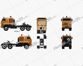 KamAZ 65226 Tractor Truck 2010