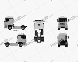 KamAZ 5490 T5 Tractor Truck 2015