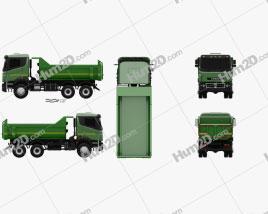Kamaz 65802 Dumper Truck 2013