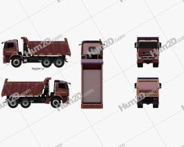 KamAZ 6580 K5 Dump Truck 2016