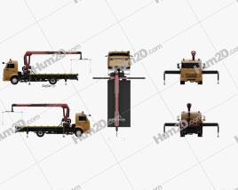 KamAZ 658625-0010-03 Tow Truck 2018