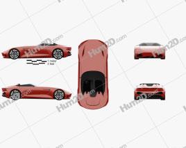 Karma SC1 Vision 2019 car clipart