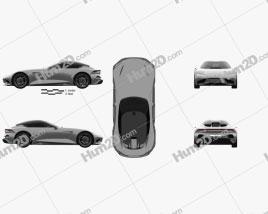 Karma SC2 2019 car clipart