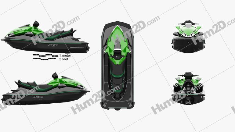 Kawasaki Ultra 310LX 2014 clipart