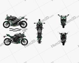 Kawasaki Ninja 650 2017 Clipart