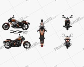 Kawasaki Vulcan S 2018 Motorcycle clipart
