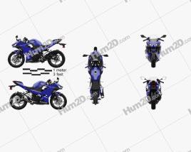Kawasaki Ninja 400 2018 Motorcycle clipart