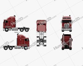 Kenworth K200 Tractor Truck 2010