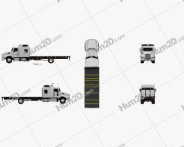 Kenworth T400 Flatbed Truck 2012