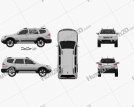 Kia Mohave (Borrego) HM 2012 car clipart