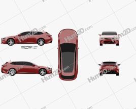 Kia Sportspace 2015 car clipart