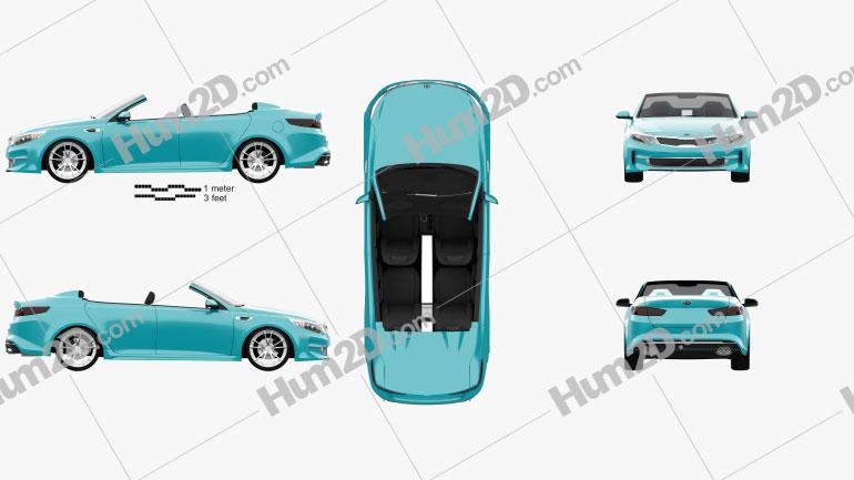 Kia Optima Roadster A1A 2015
